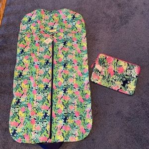 Lilly Pulitzer Garment Bag Laptop Case, NWT